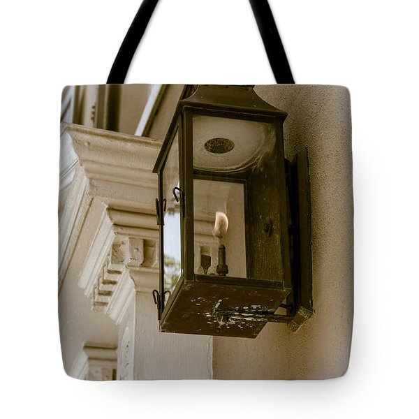 Tote Bag featuring the photograph Lamp Unto My Feet by Sennie Pierson