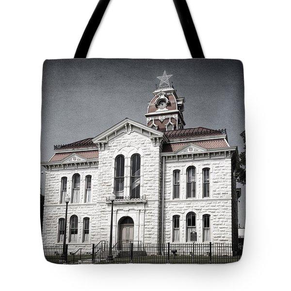Lampasas County Courthouse II Tote Bag