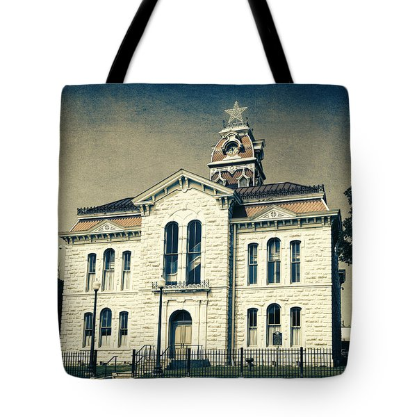 Lampasas County Courthouse IIi Tote Bag