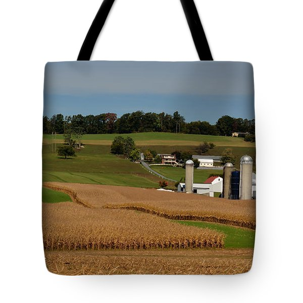 Lancaster County Farm Tote Bag