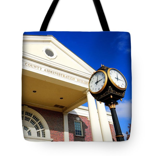 Lancaster County Administration Building Tote Bag