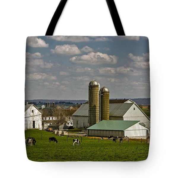 Lancaster Pennsylvania Farms Tote Bag
