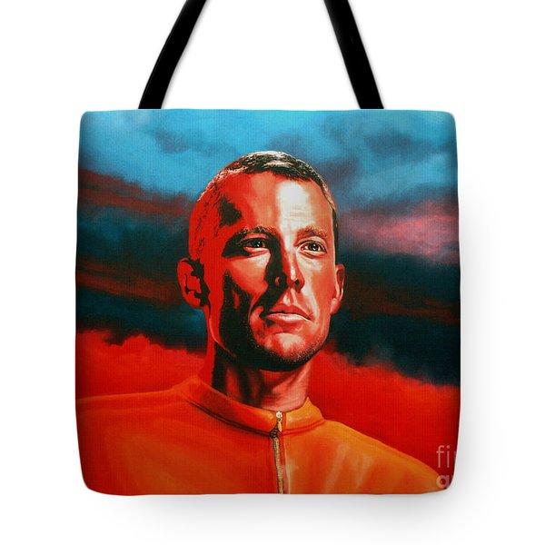 Lance Armstrong 2 Tote Bag