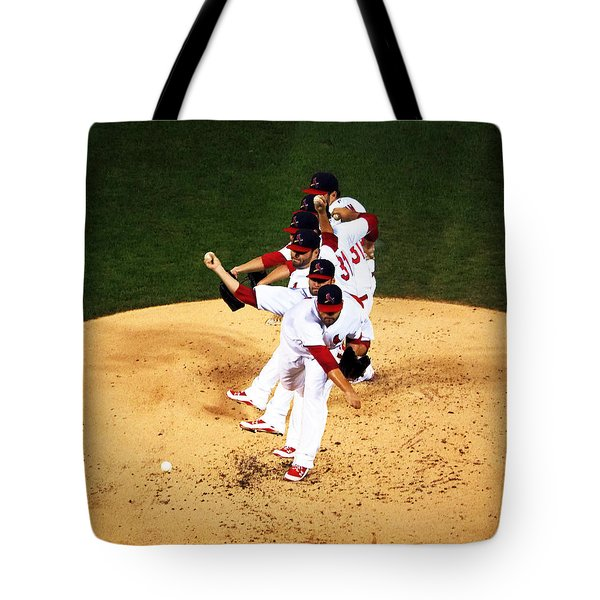 Lance Lynn Pitches Tote Bag
