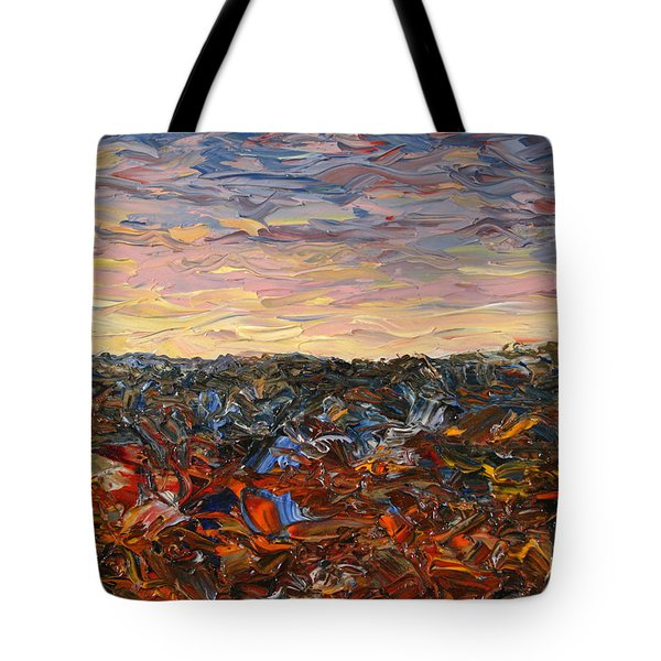 Land And Sky 2 Tote Bag
