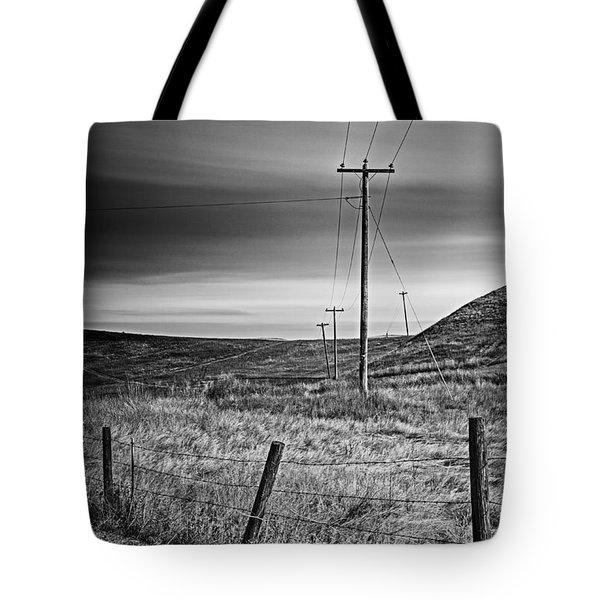 Land Line Tote Bag