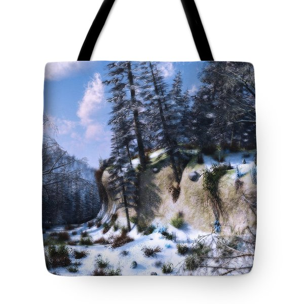 Land Of The Red Fox Tote Bag by Ken Morris