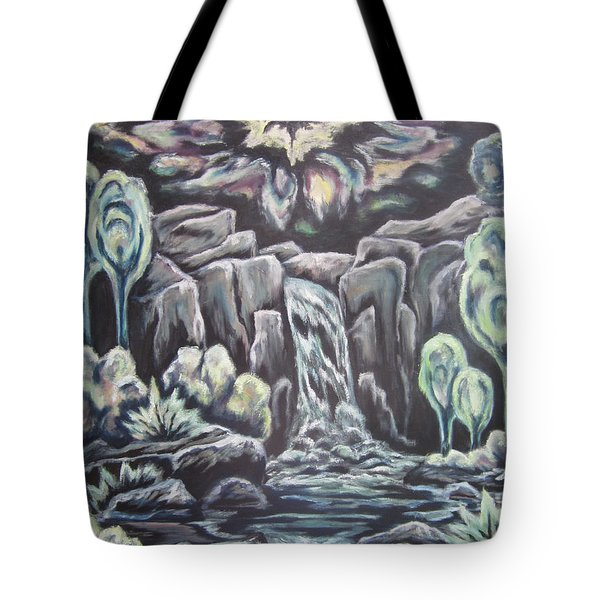 Land Of The Setting Sun Tote Bag