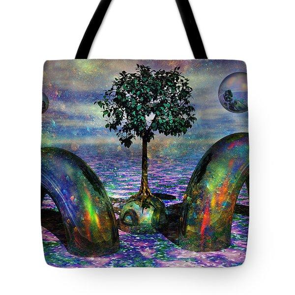 Land Of World 8624028 Tote Bag by Betsy Knapp