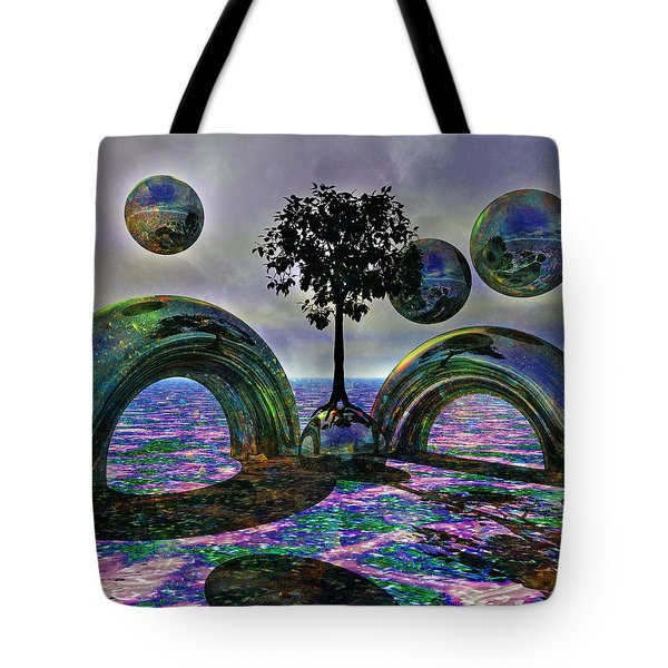 Land Of World 8624030 Tote Bag by Betsy C Knapp