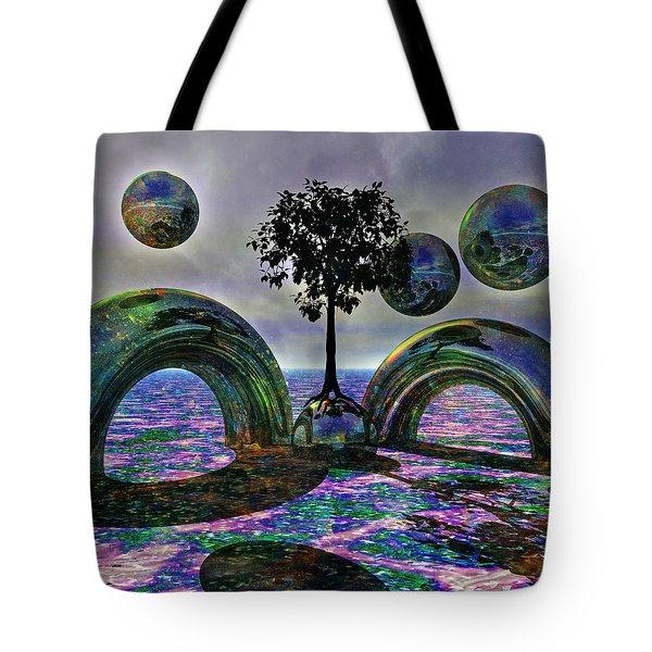 Land Of World 8624030 Tote Bag by Betsy Knapp