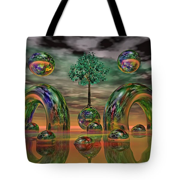 Land Of World 8624036 Tote Bag by Betsy Knapp