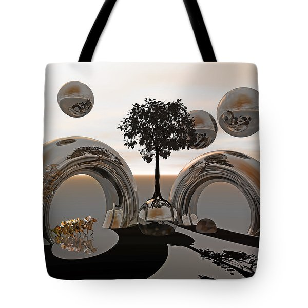 Land Of World 8624038 Racing Tote Bag by Betsy Knapp