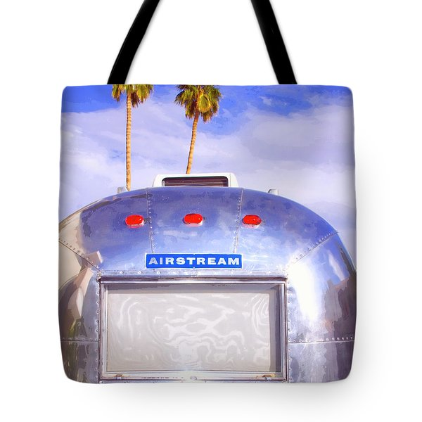 Land Yacht Palm Springs Tote Bag by William Dey