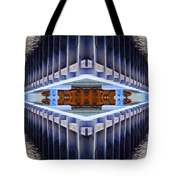 Tote Bag featuring the photograph Landing Bay by WB Johnston