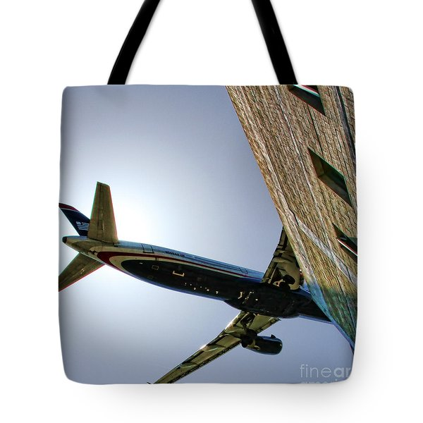 Landing By Diana Sainz Tote Bag