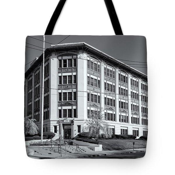 Landmark Life Savers Building II Tote Bag by Clarence Holmes