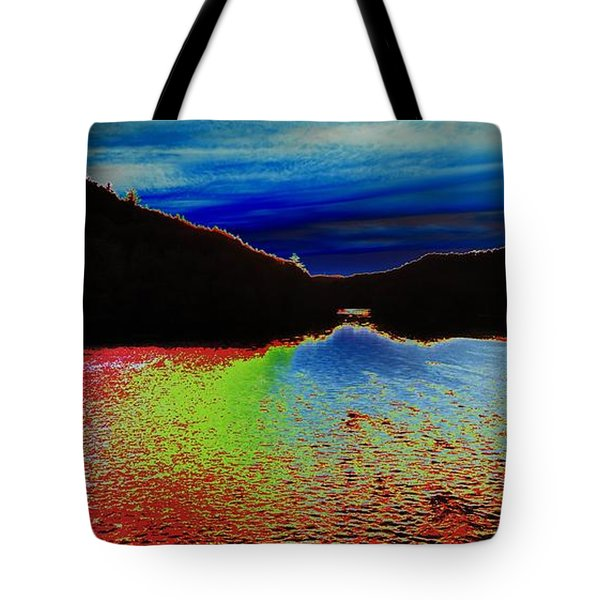 Landscape Abstract Tote Bag
