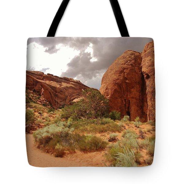 Landscape Arch - Utah Tote Bag