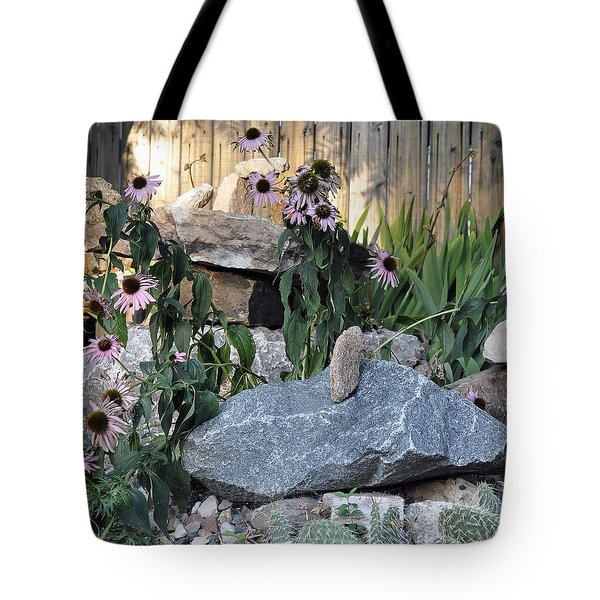 Tote Bag featuring the photograph Landscape Formations by Minnie Lippiatt