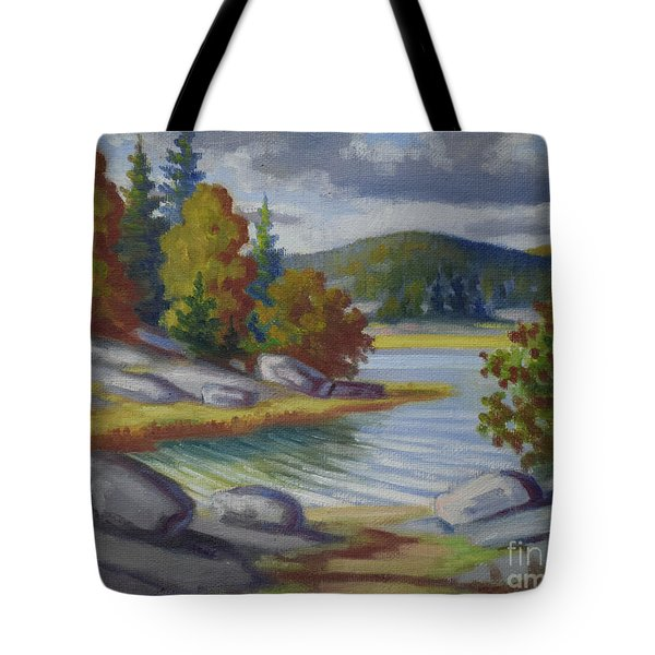 Landscape From Finland Tote Bag