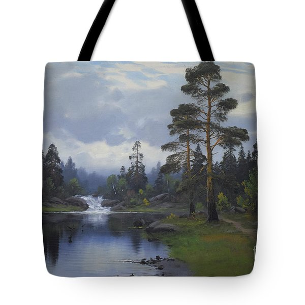 Landscape From Norway Tote Bag
