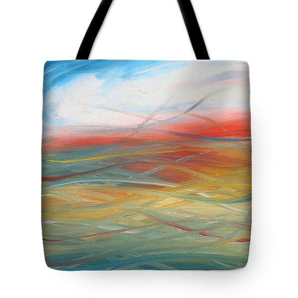 Landscape I Tote Bag by Sheridan Furrer