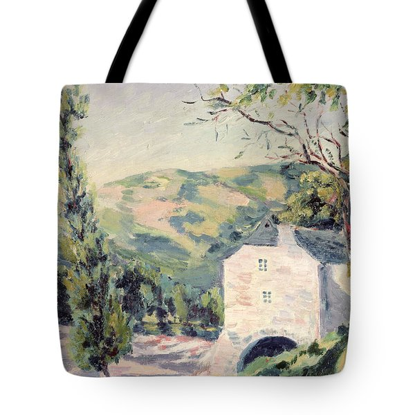 Landscape In Provence Tote Bag by French School