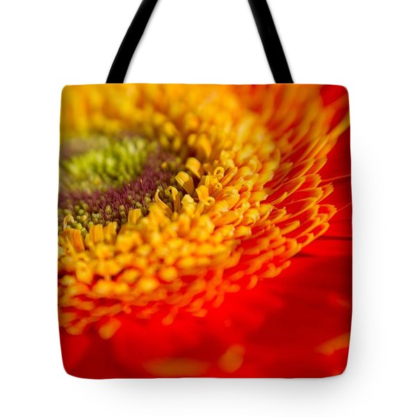 Landscape Of A Flower Tote Bag