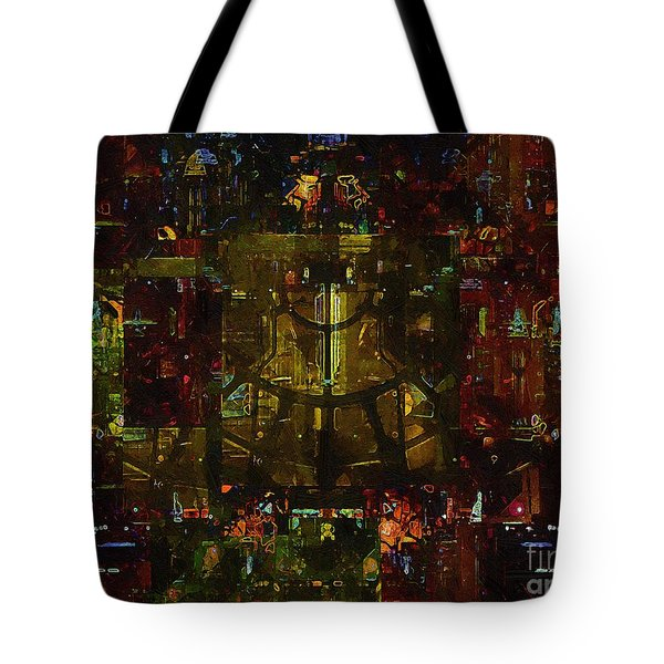 Landscape Of Hell Tote Bag by RC deWinter