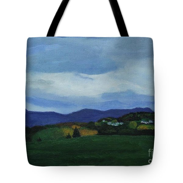 Landscape Of Sola Norway Tote Bag