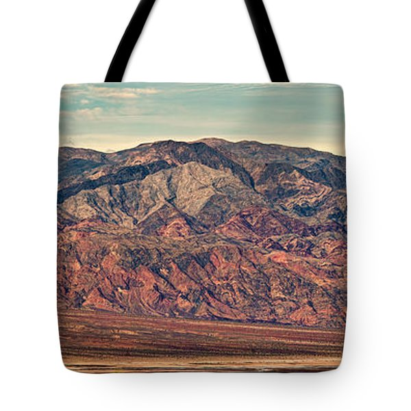 Landscape With Mountain Range Tote Bag by Panoramic Images