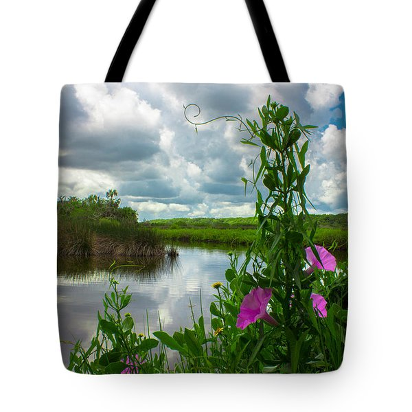 Tote Bag featuring the photograph Landscaped by Tyson Kinnison