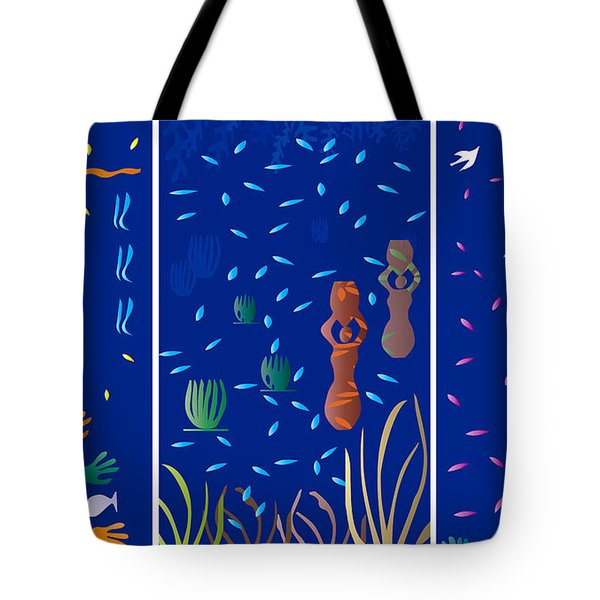 Landscapes With Women - Limited Edition 1 Of 20 Tote Bag by Gabriela Delgado