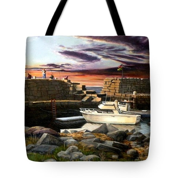 Lanes Cove Gloucester Tote Bag