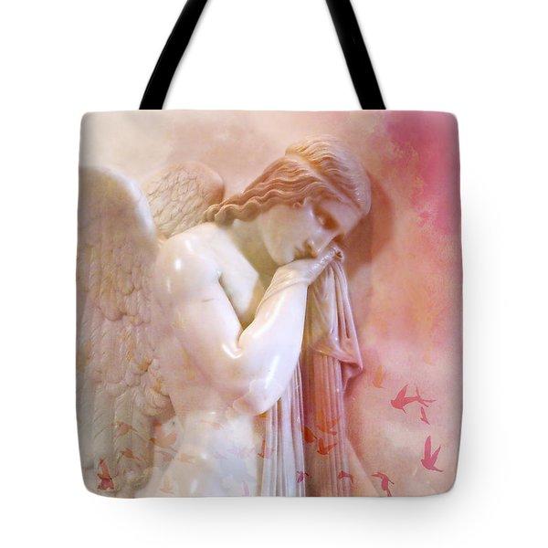 L'angelo Celeste Tote Bag by Micki Findlay