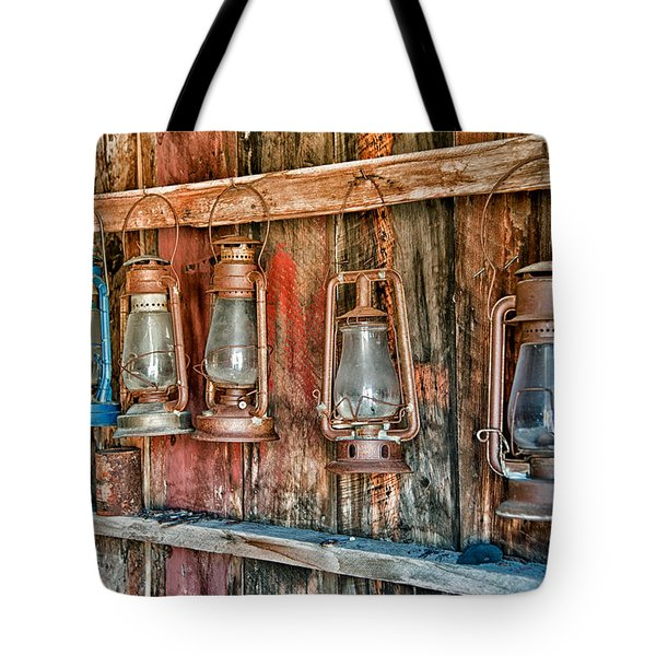 Lanterns Tote Bag by Cat Connor
