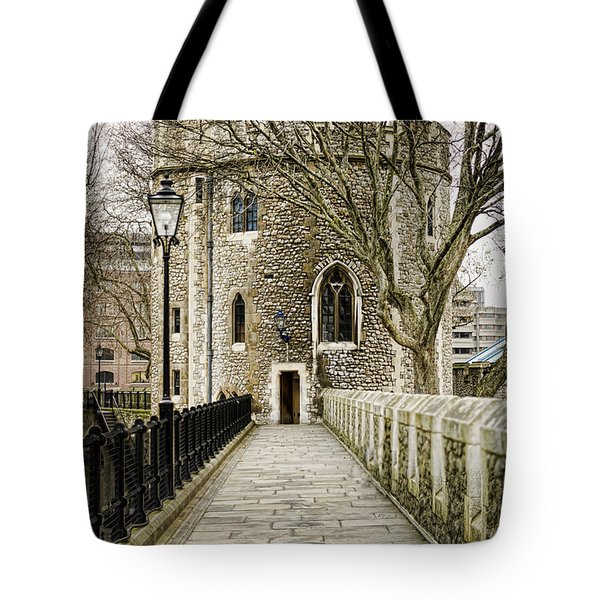 Lanthorn Tower Tote Bag by Heather Applegate
