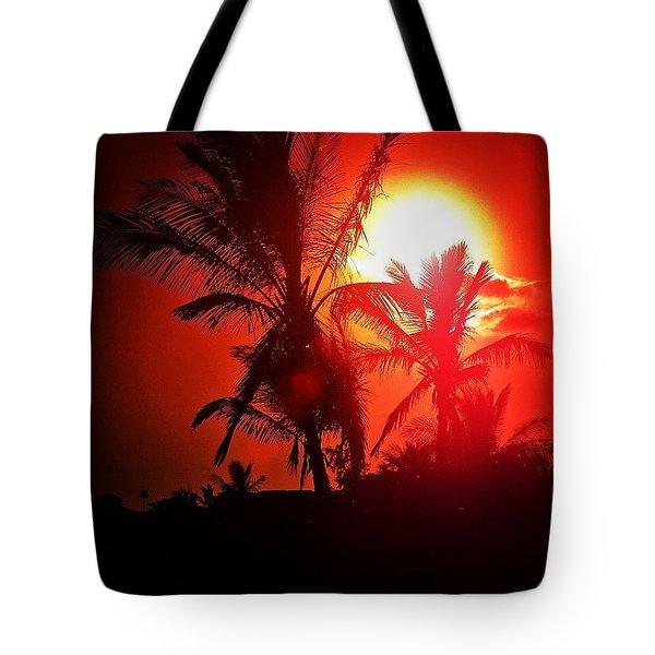 Lanzarote Dusk Tote Bag