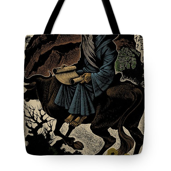 Tote Bag featuring the photograph Laozi, Ancient Chinese Philosopher by Science Source