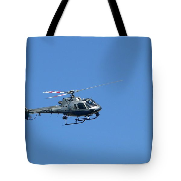Lapd Helicopter Tote Bag