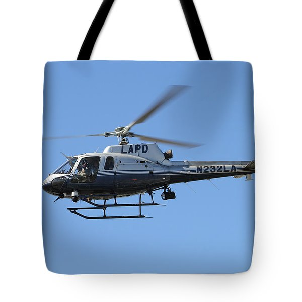 Lapd In Flight Tote Bag by Shoal Hollingsworth