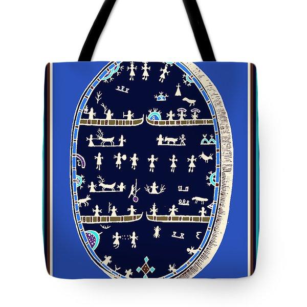Lappish Shaman's Ritual Drum Tote Bag