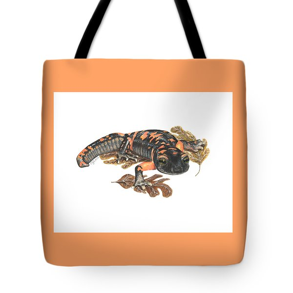 Large Blotched Salamander2 Tote Bag