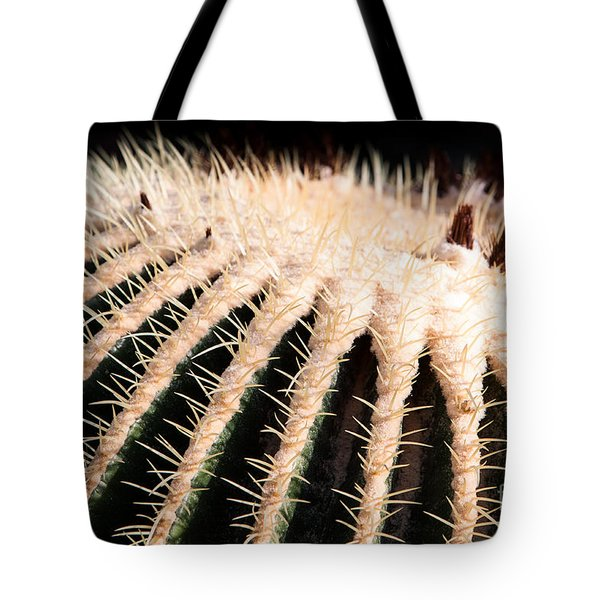 Large Cactus Ball Tote Bag
