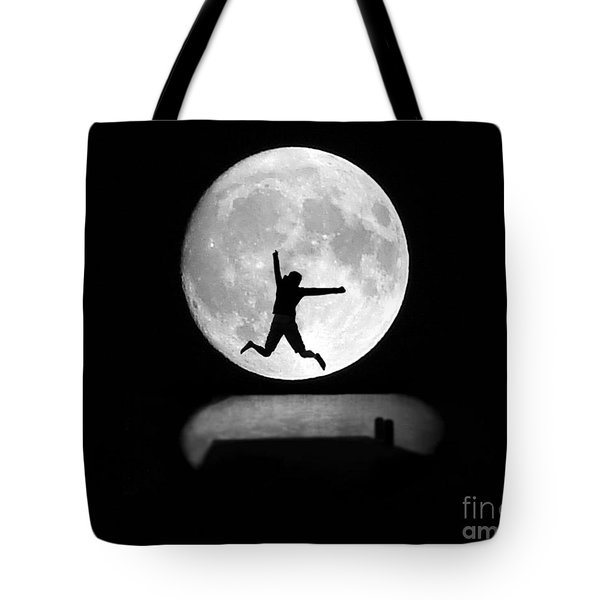 Large Leap For Mankind Tote Bag