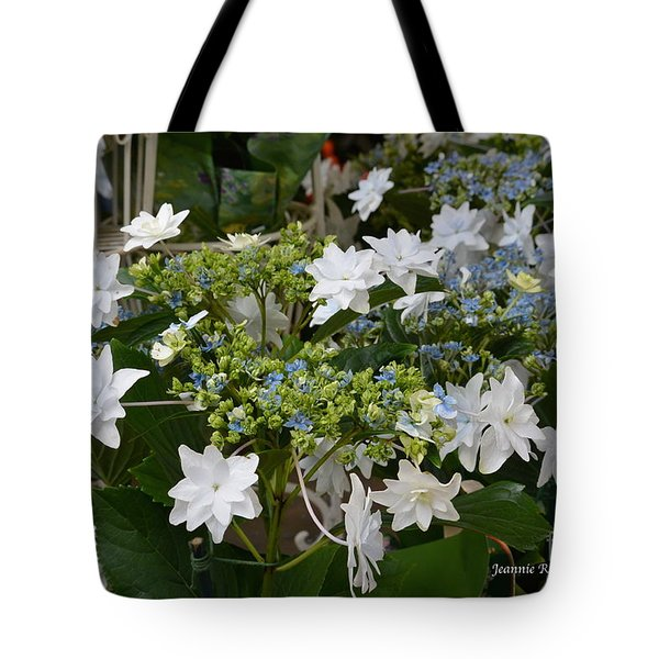 Tote Bag featuring the photograph Shooting Star Bouquet by Jeannie Rhode