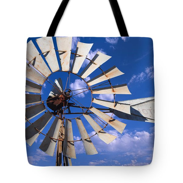 Large Windmill Tote Bag