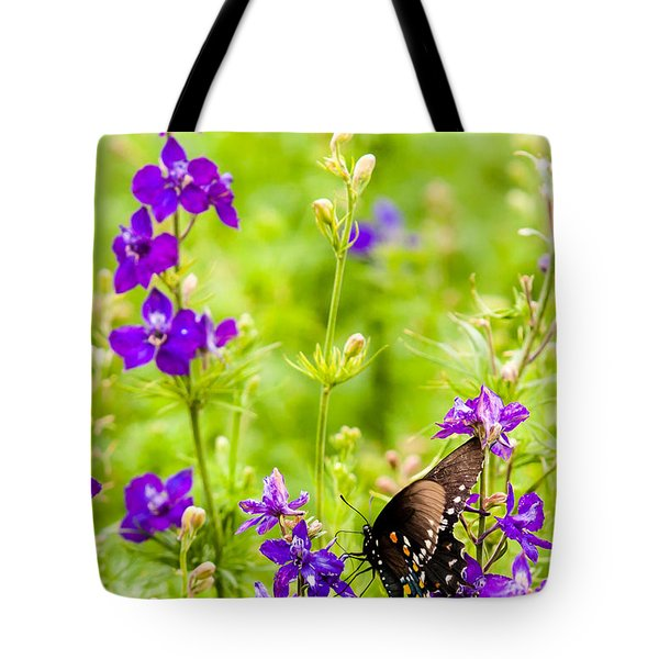 Larkspur Visitor Tote Bag