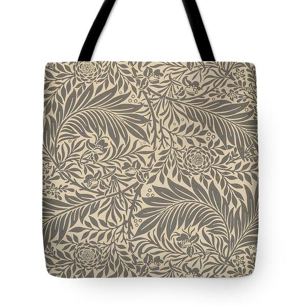 Larkspur Wallpaper Design Tote Bag